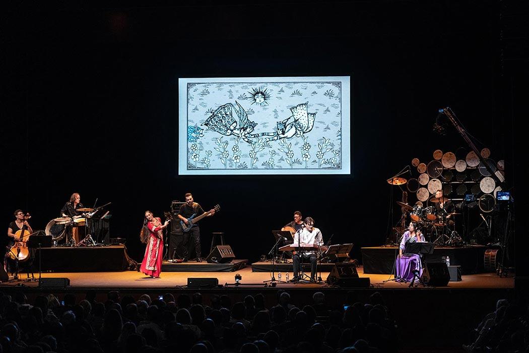 Hamid Saeidi Concert in Royce Hall UCAL Concert Phoography