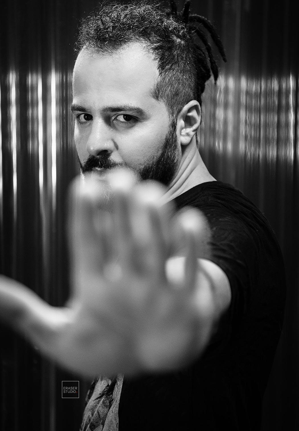 Portrait headshot Photography Eraser Studio Los Angeles California