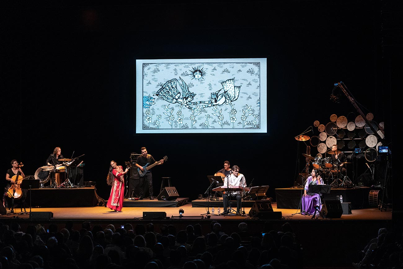 Concert Photography Hamid Saeidi Royce Hall Eraser Studio Los Angeles
