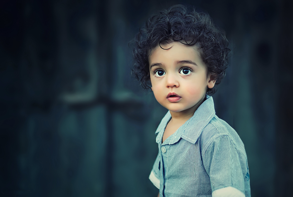 Close up Photo of a Child