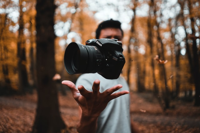 Man with a DSLR